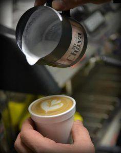Tostador de café.