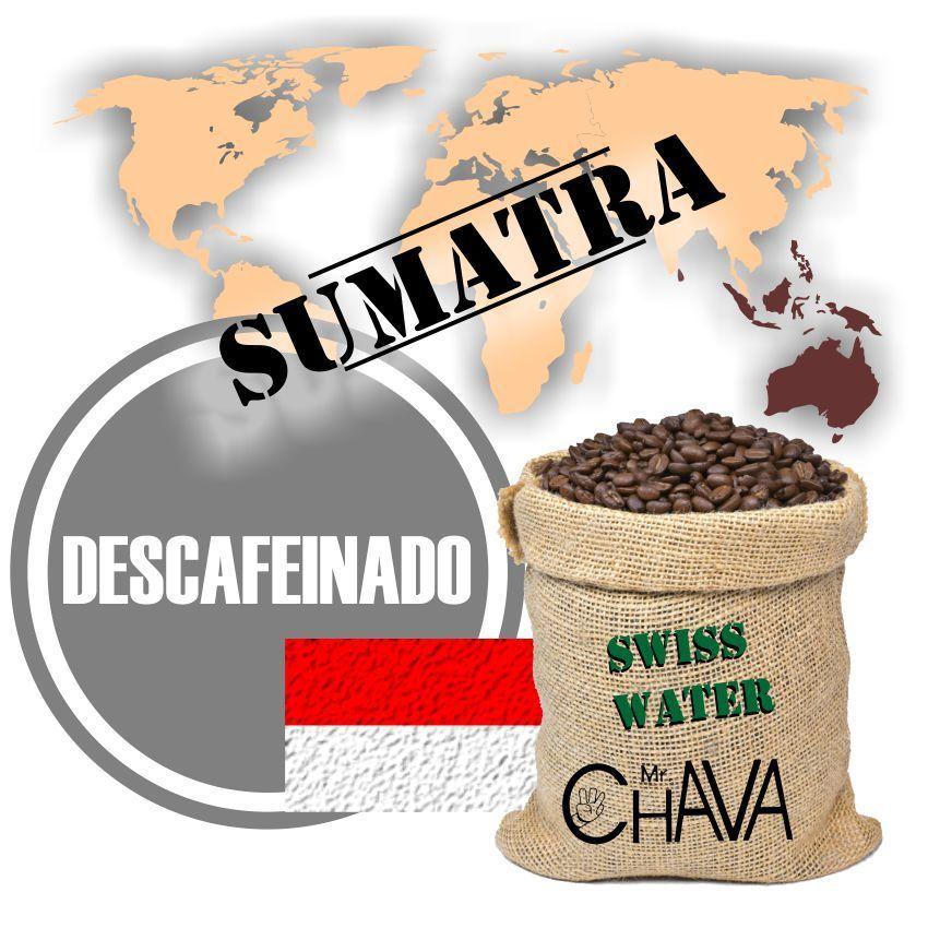 Café de Sumatra descafeinado