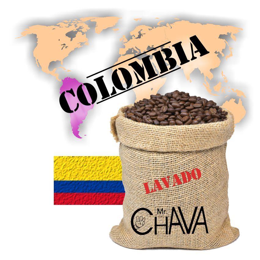 cafe colombia lavado