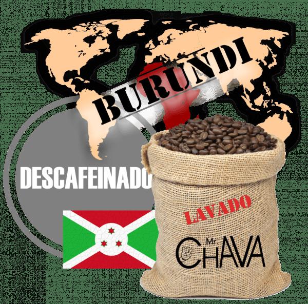 BURUNDI LAVADO DESCAFEINADO