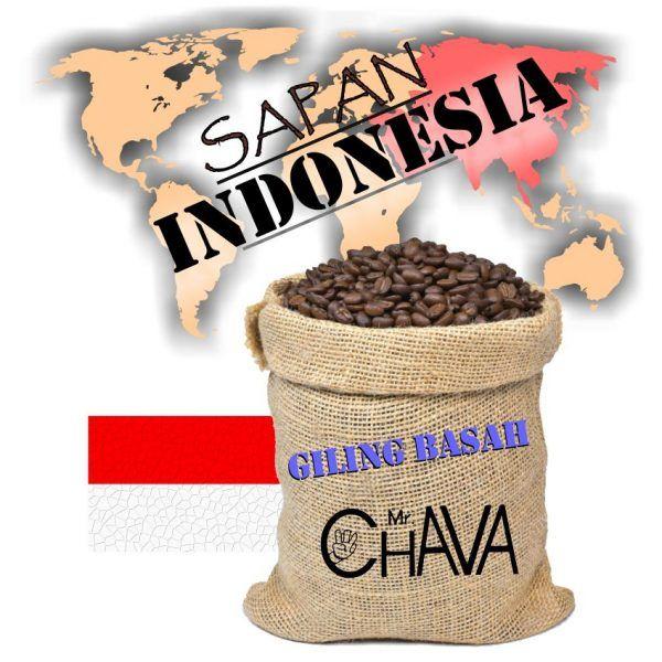 Cafe Indonesia sapan giling basah