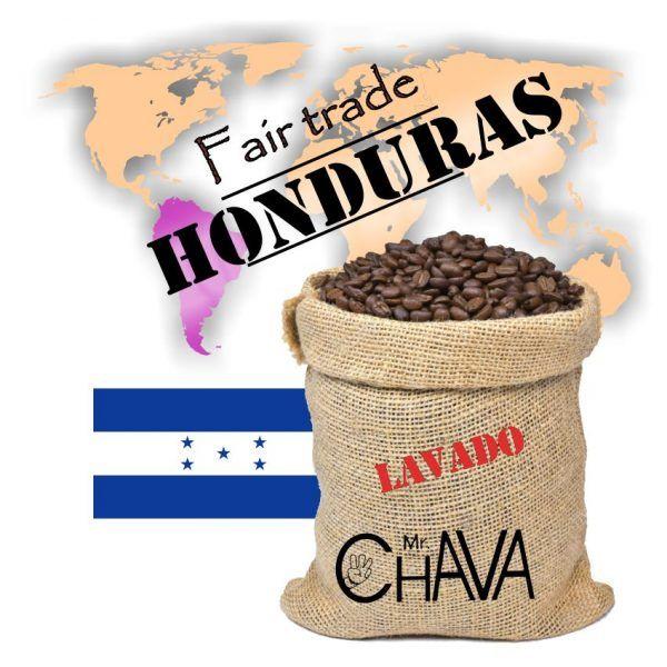 Café Honduras Comercio Justo Lavado